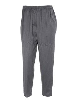 christine et laure pantalons et decontractes femme de couleur gris