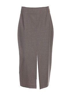 lecomte jupes femme de couleur gris