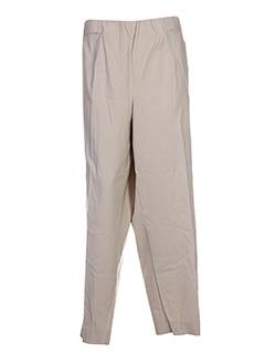 kjbrand pantalons et decontractes femme de couleur beige
