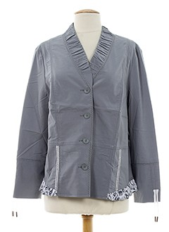 pauporté vestes femme de couleur gris