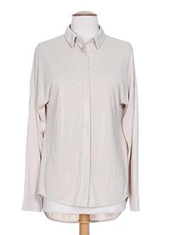 marc cain chemises femme de couleur gris