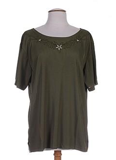 la et spilla tuniques femme de couleur vert