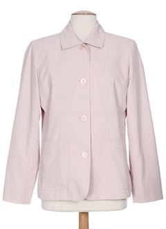 le temps d'havrey vestes femme de couleur rose