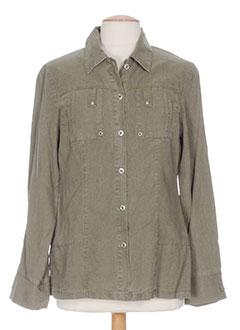 lewinger vestes femme de couleur vert