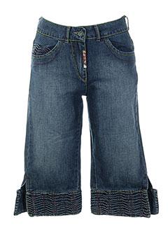 anne elisabeth shorts / bermudas femme de couleur bleu