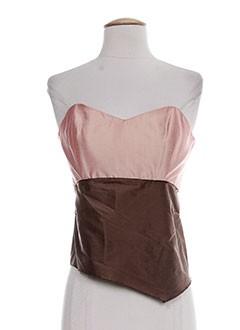elsa gary chemises femme de couleur rose