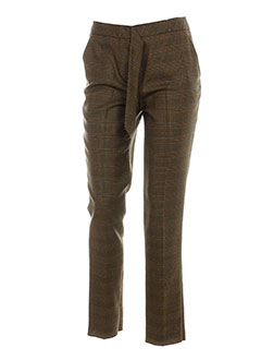 paul smith pantalons homme de couleur marron