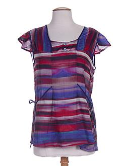 chrismas's chemises femme de couleur bleu