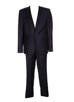 izac pantalon et veste homme de couleur noir