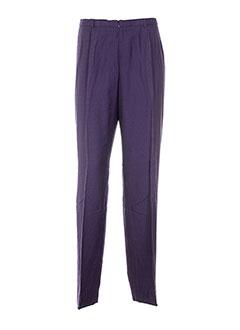pauporte pantalons et decontractes femme de couleur violet