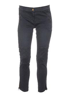 shine jeans femme de couleur gris