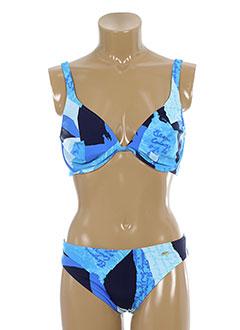 ory maillots de bain femme de couleur bleu