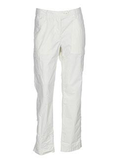 aigle pantalons homme de couleur blanc