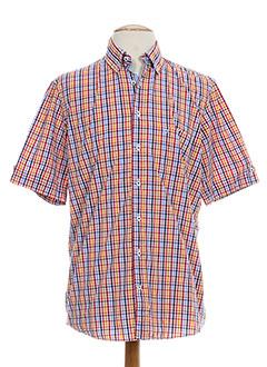 olymp chemises homme de couleur orange