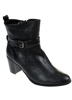 enza et nucci boots femme de couleur noir