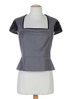 ports 1961 chemises femme de couleur gris