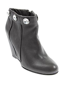rodo chaussures femme de couleur gris