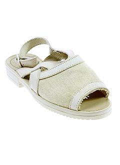 gepy chaussures fille de couleur beige