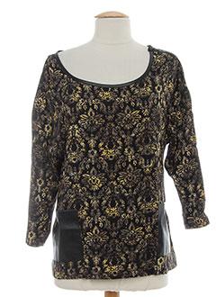 chipie chemises femme de couleur noir