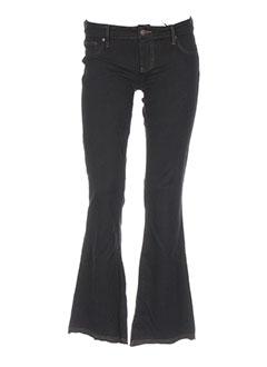 hippie pantalons femme de couleur noir