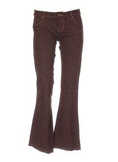 hippie pantalons femme de couleur marron