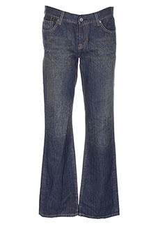 seven et 7 jeans et coupe et droite homme de couleur bleu