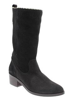 gaimo bottes femme de couleur noir
