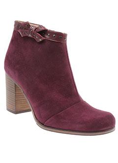 karston boots femme de couleur violet