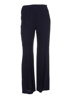 francois favel pantalons femme de couleur noir