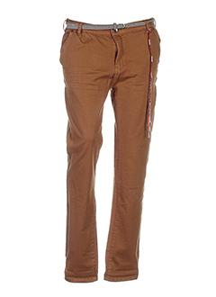 circle of trust pantalons femme de couleur marron