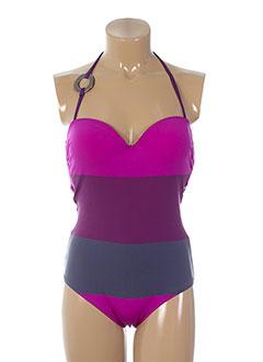 gemma maillots de bain femme de couleur violet