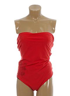 bluelobster maillots de bain femme de couleur rouge