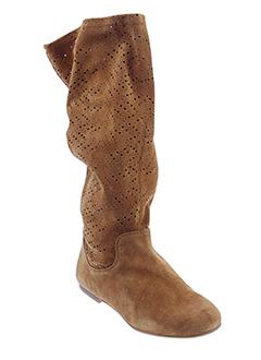 unisa bottes femme de couleur marron
