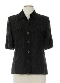 basler chemises femme de couleur noir