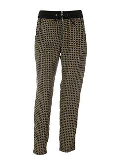biscote pantalons et decontractes femme de couleur noir