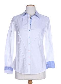 bariloche chemises femme de couleur blanc