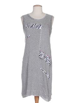 etnia robes femme de couleur gris