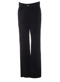 absolu pantalons femme de couleur noir