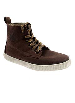 victoria boots garcon de couleur marron