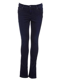 teddy et smith pantalons et decontractes fille de couleur bleu