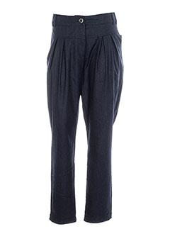 tcheka pantalons femme de couleur bleu