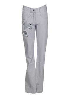 ddp jeans jeans femme de couleur gris