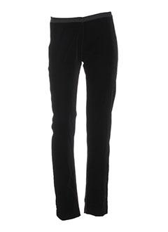 Pantalon casual noir DP JEANS pour femme