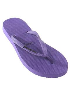 pull et in tongs homme de couleur violet