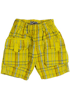 catimini shorts / bermudas garçon de couleur jaune