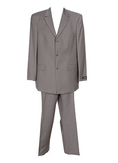 masterhand pantalon et veste homme de couleur gris