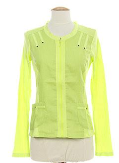 maloka vestes femme de couleur vert