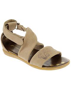 noel sandales et nu et pieds fille de couleur beige