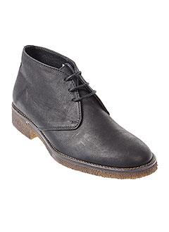 hipness boots femme de couleur noir