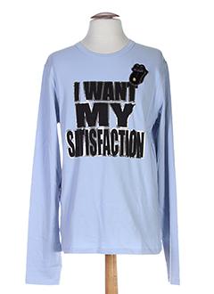a-style t et shirts et tops homme de couleur bleu